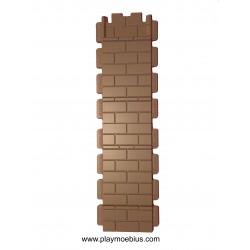 Mur à double hauteur
