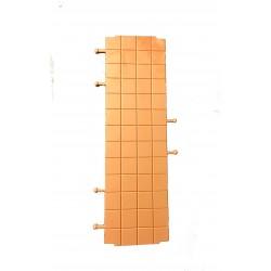 Plancher triple carré générique pour les murs