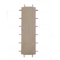 Flooring triple battens walls
