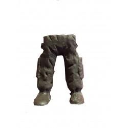 Jambes militaires type 2