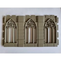 Fenêtre triple gothique