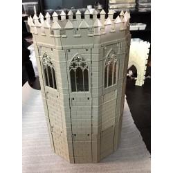 Unión en ángulo para torre decagonal