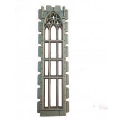 Double height Gothic window
