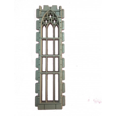 Double height Gothic window