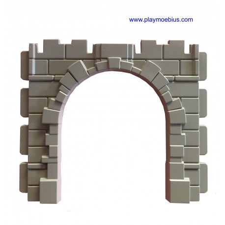arco medio punto puente