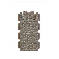 Eenvoudige stenen muur