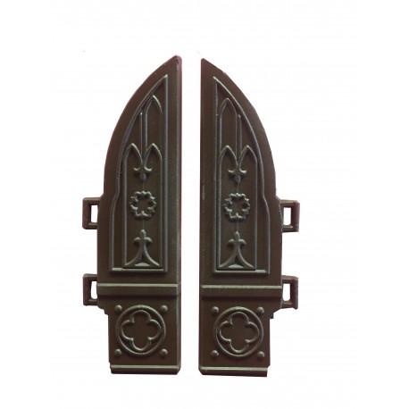 Puertas de pórtico gótico